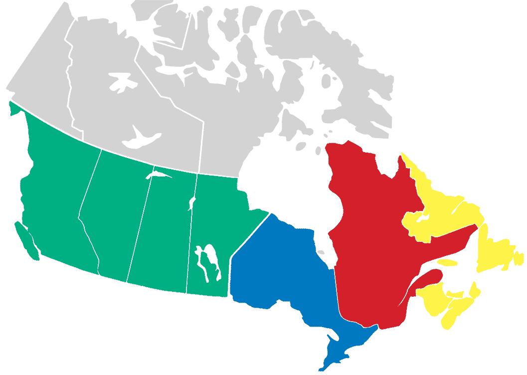 Caruk & Associates territories managed